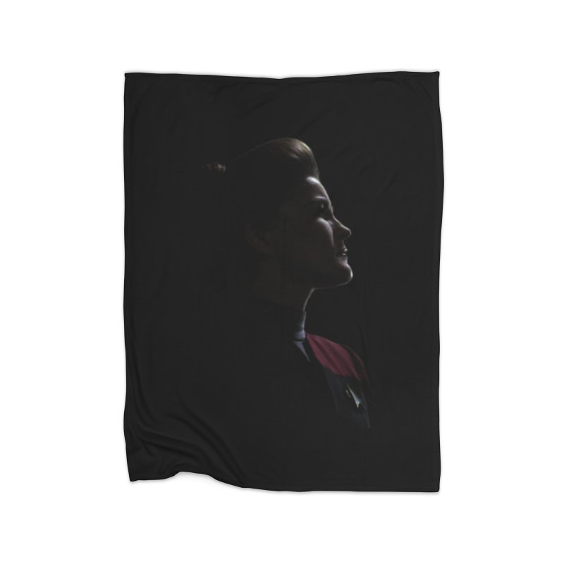 Captain Kathryn Janeway Home Blanket by To Boldly Merch