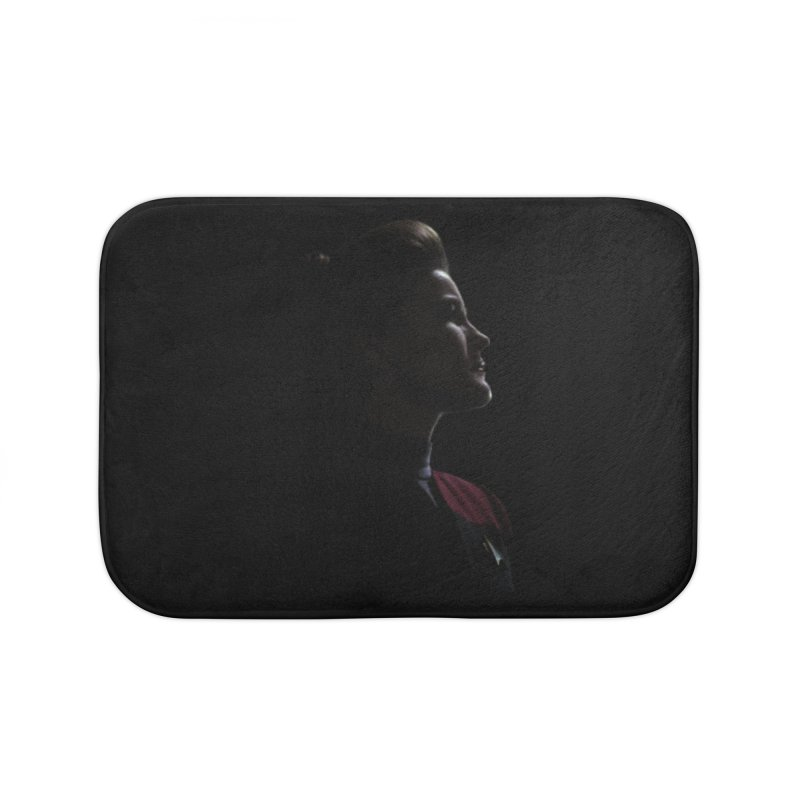 Captain Kathryn Janeway Home Bath Mat by To Boldly Merch