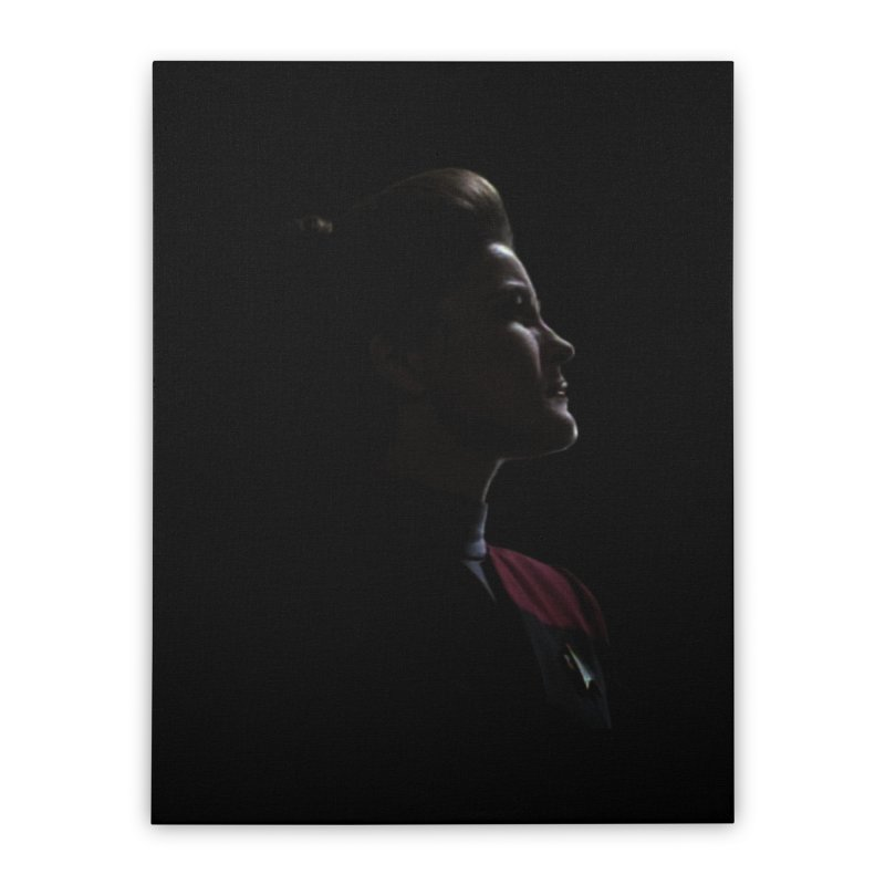 Captain Kathryn Janeway Home Stretched Canvas by To Boldly Merch