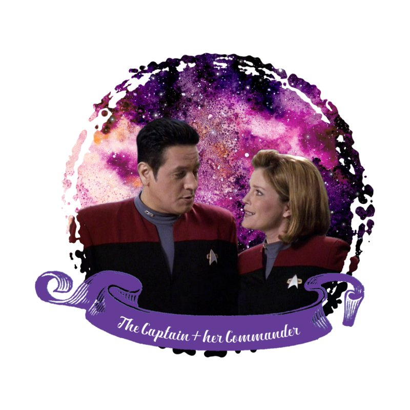 The Captain and her Commander by To Boldly Merch