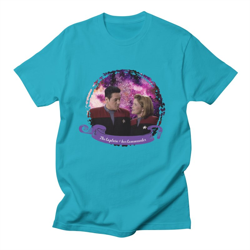 The Captain and her Commander Women's Unisex T-Shirt by To Boldly Merch