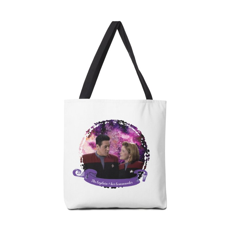 The Captain and her Commander Accessories Bag by To Boldly Merch