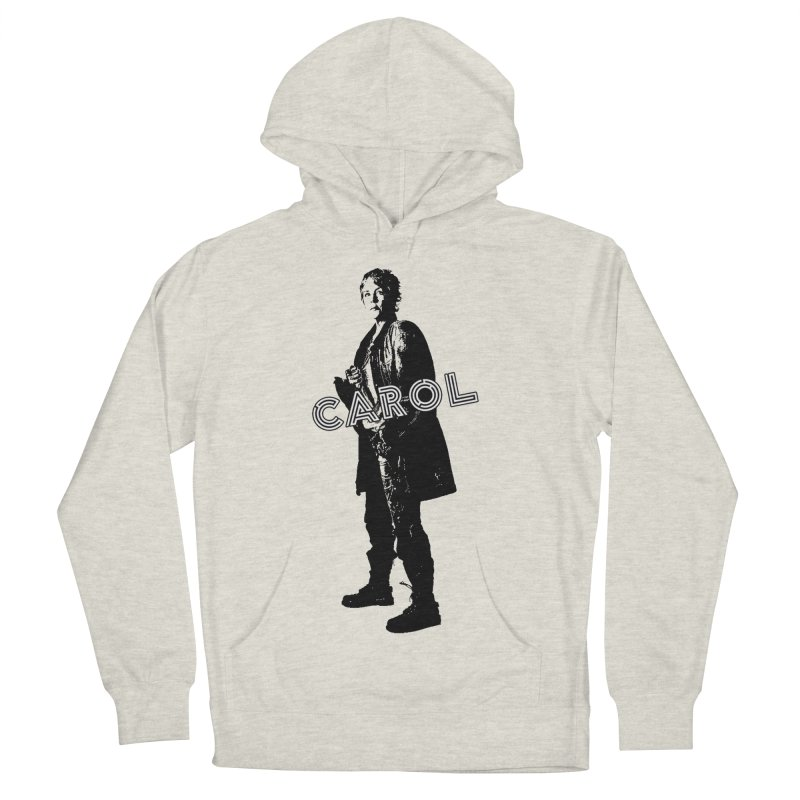 Carol Peletier Women's French Terry Pullover Hoody by To Boldly Merch