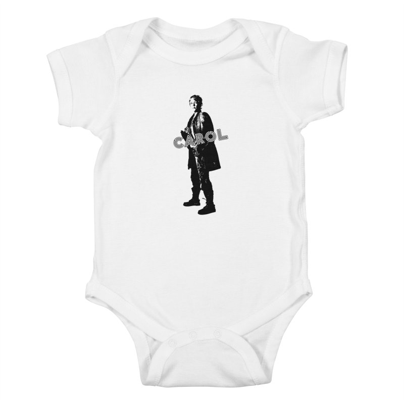 Carol Peletier Kids Baby Bodysuit by To Boldly Merch
