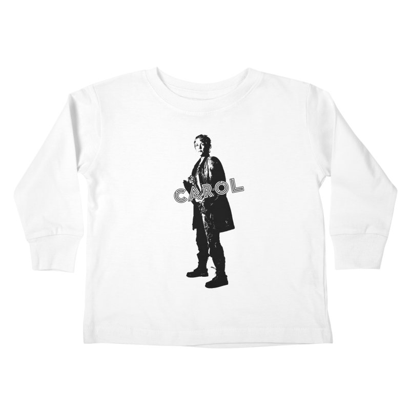 Carol Peletier Kids Toddler Longsleeve T-Shirt by To Boldly Merch