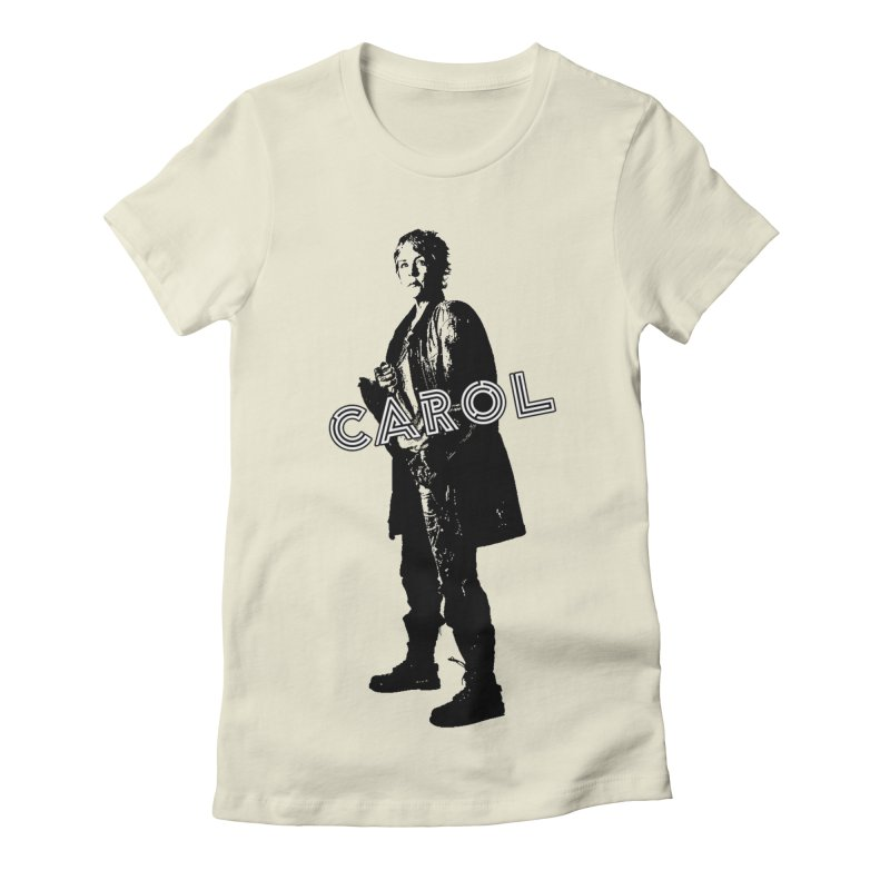 Carol Peletier Women's Fitted T-Shirt by To Boldly Merch