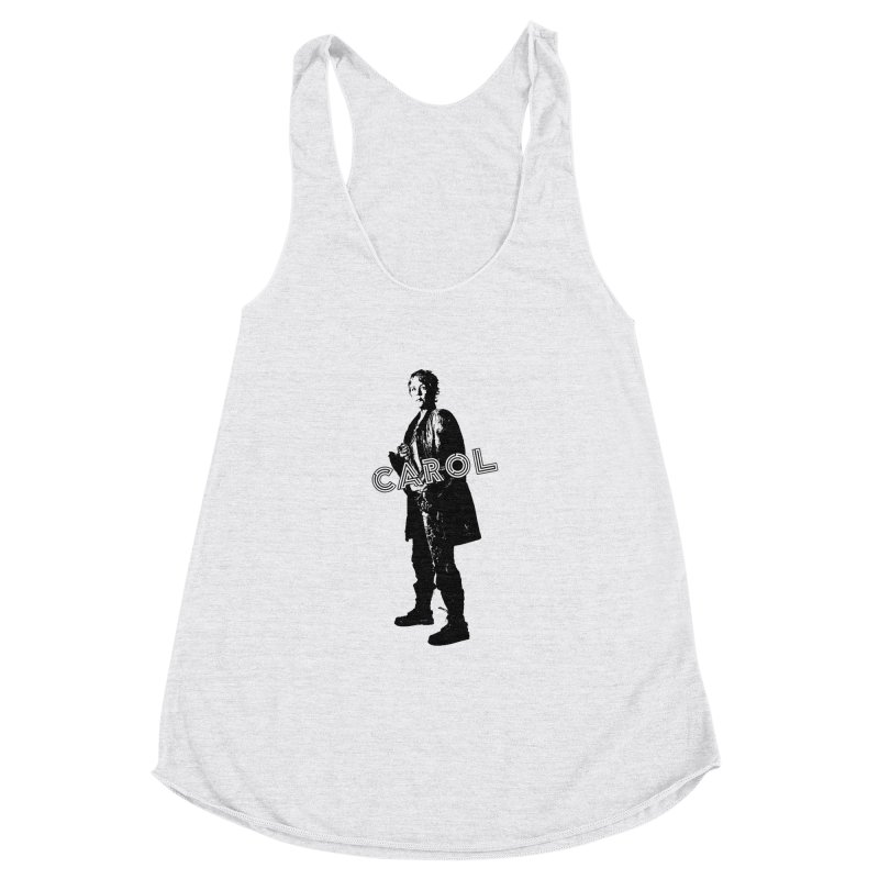 Carol Peletier Women's Racerback Triblend Tank by To Boldly Merch