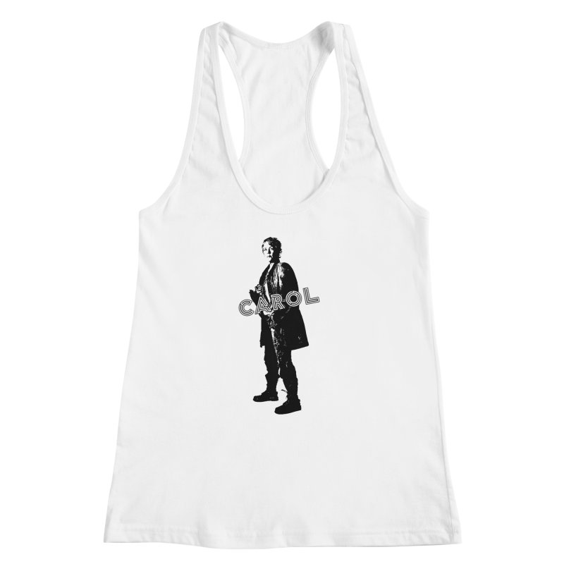Carol Peletier Women's Racerback Tank by To Boldly Merch