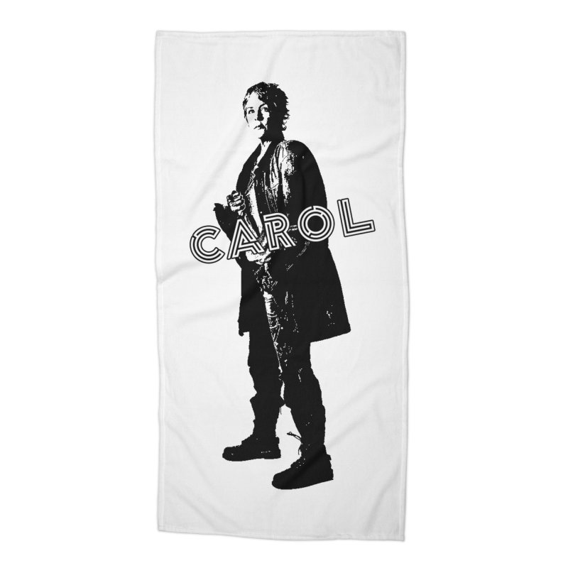 Carol Peletier Accessories Beach Towel by To Boldly Merch