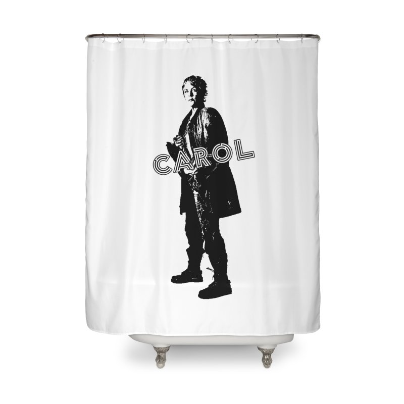 Carol Peletier Home Shower Curtain by To Boldly Merch