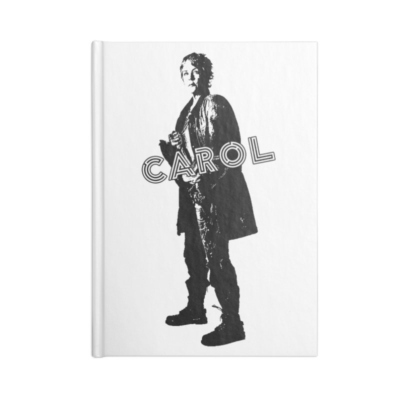 Carol Peletier Accessories Notebook by To Boldly Merch