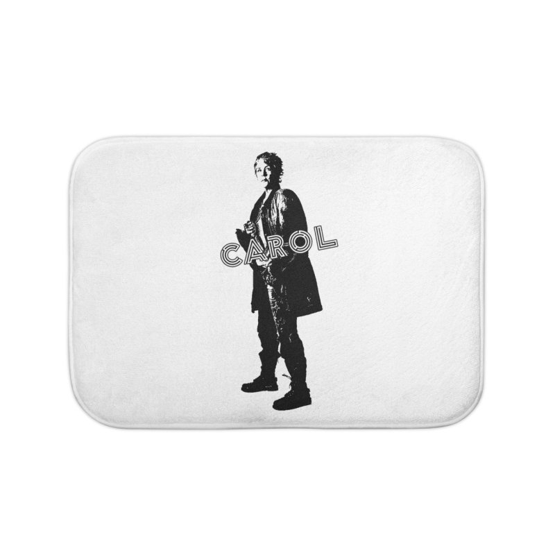 Carol Peletier Home Bath Mat by To Boldly Merch