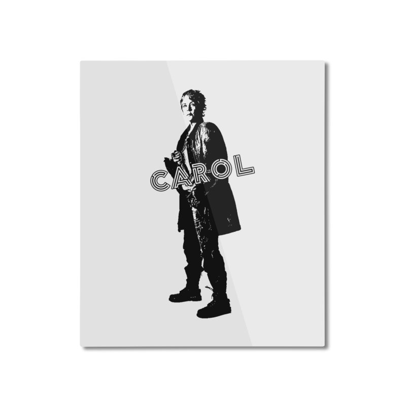 Carol Peletier Home Mounted Aluminum Print by To Boldly Merch