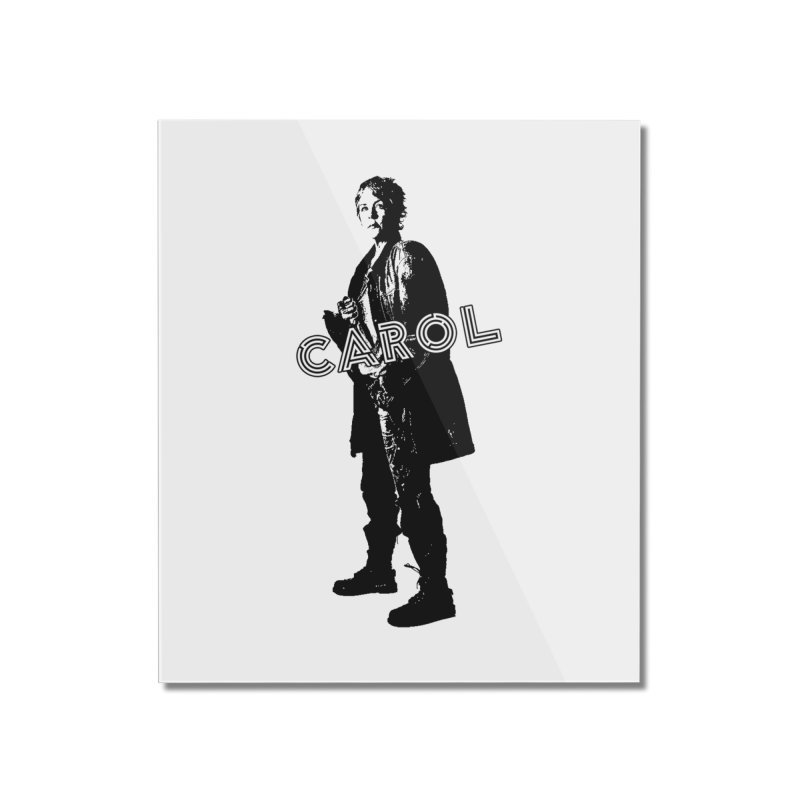 Carol Peletier Home Mounted Acrylic Print by To Boldly Merch