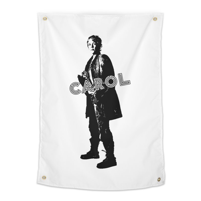 Carol Peletier Home Tapestry by To Boldly Merch