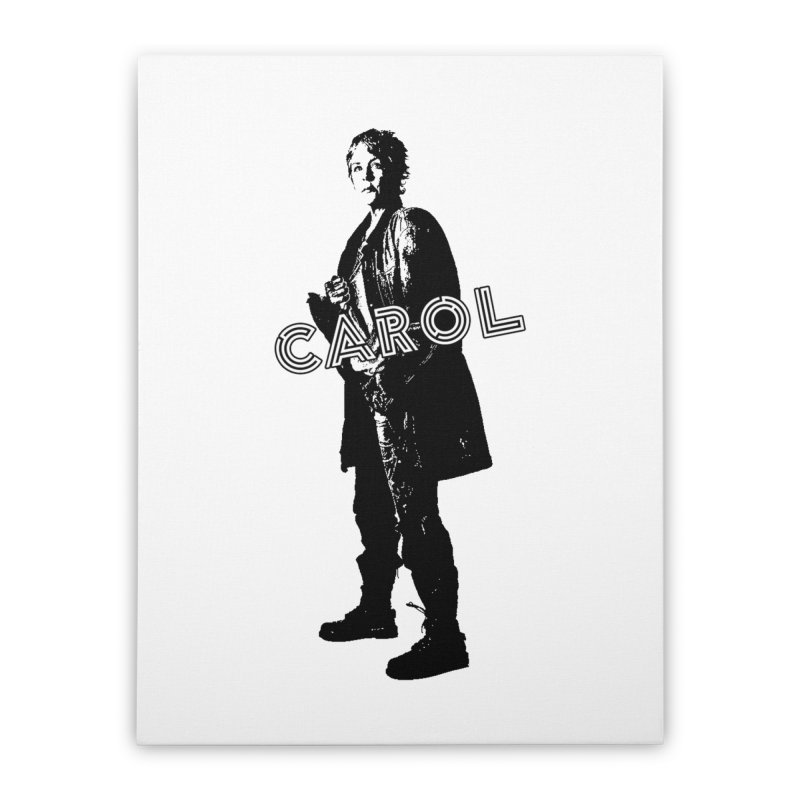 Carol Peletier Home Stretched Canvas by To Boldly Merch