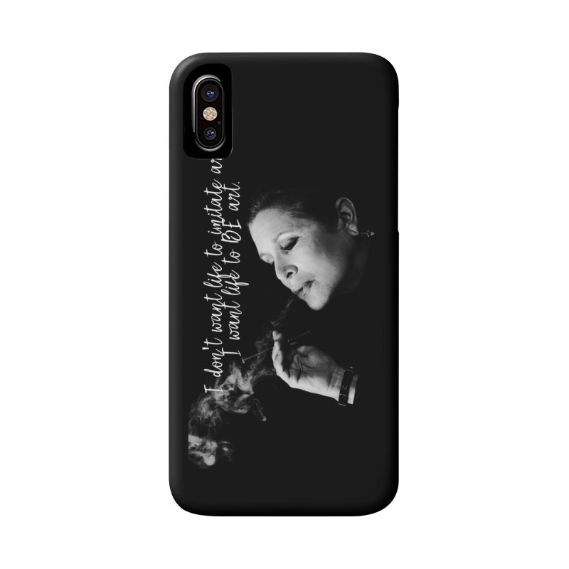 Carrie Fisher Wisdom 02 Accessories Phone Case by To Boldly Merch
