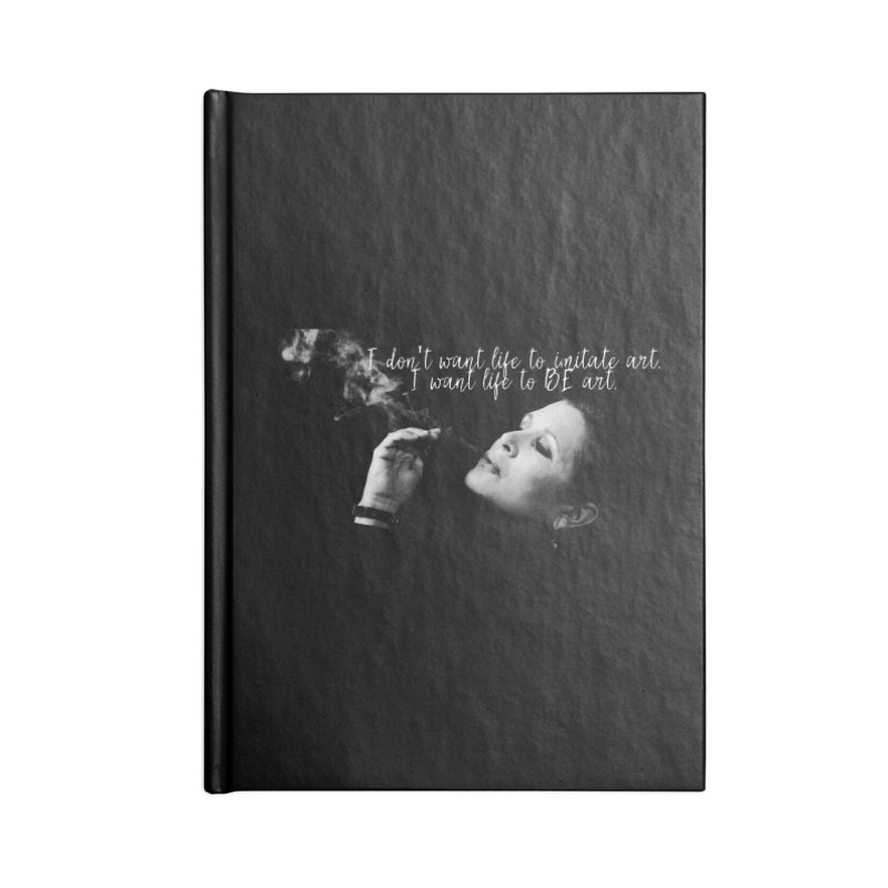 Carrie Fisher Wisdom 02 Accessories Notebook by To Boldly Merch