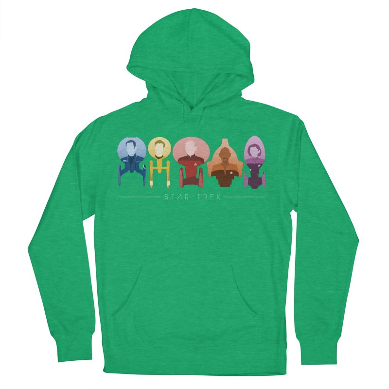 Inner Chronology Captains Women's French Terry Pullover Hoody by To Boldly Merch