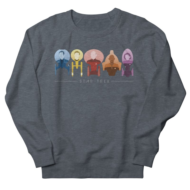 Inner Chronology Captains Women's French Terry Sweatshirt by To Boldly Merch