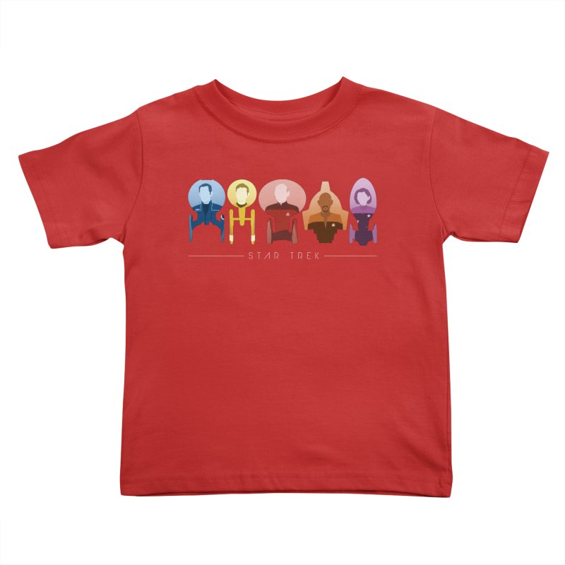 Inner Chronology Captains Kids Toddler T-Shirt by To Boldly Merch