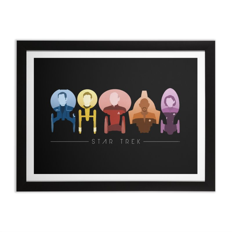Inner Chronology Captains Home Framed Fine Art Print by To Boldly Merch