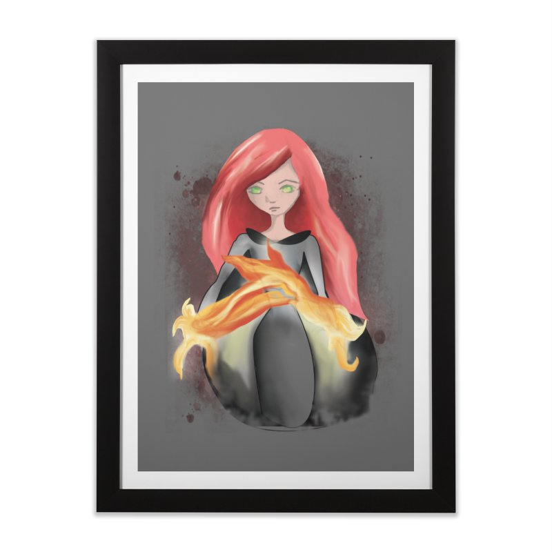 Burning Bright Home Framed Fine Art Print by Kiaraautumn's Artist Shop