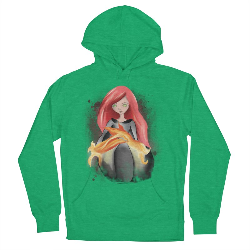 Burning Bright Women's Pullover Hoody by Kiaraautumn's Artist Shop