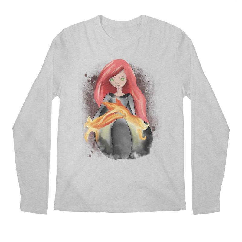 Burning Bright Men's Longsleeve T-Shirt by Kiaraautumn's Artist Shop