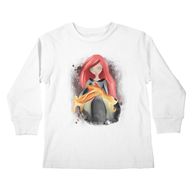 Burning Bright Kids Longsleeve T-Shirt by Kiaraautumn's Artist Shop