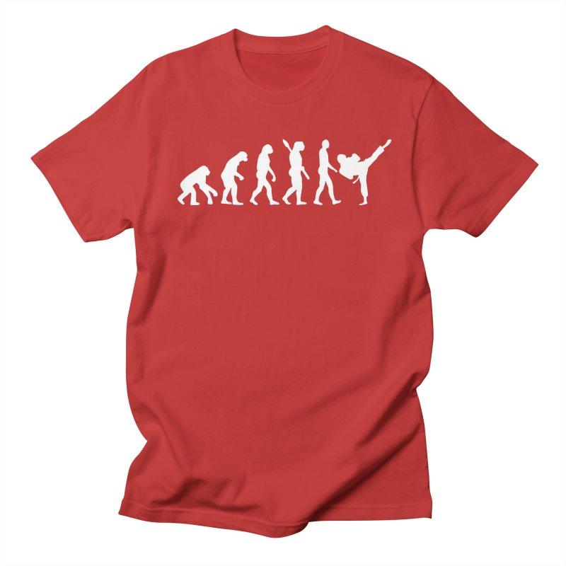 Martial Arts Evolution Women's Regular Unisex T-Shirt by Kickin Tees' Artist Shop