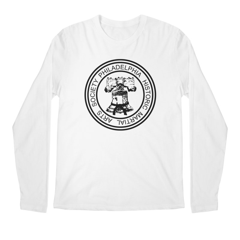 PHMAS Logo (Black) Men's Regular Longsleeve T-Shirt by Kickin Tees' Artist Shop