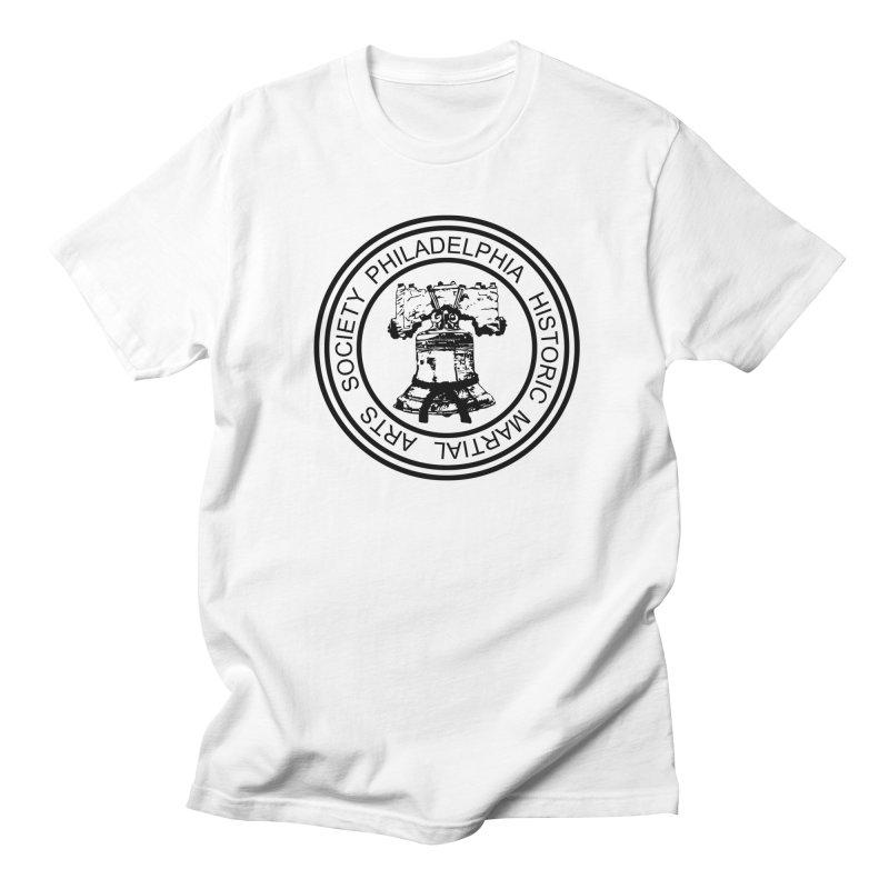 PHMAS Logo (Black) Women's Regular Unisex T-Shirt by Kickin Tees' Artist Shop