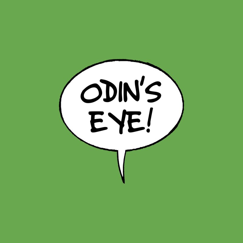 Odin's Eye! Men's T-Shirt by Kid Beowulf Studio Store