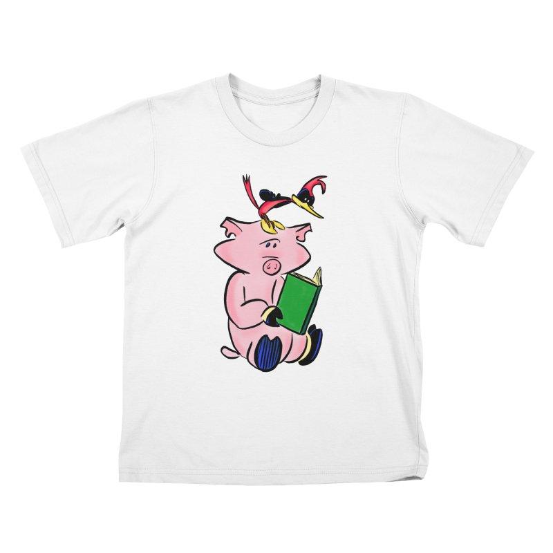 Hama & Pici Kids Shirt Kids T-Shirt by Kid Beowulf Studio Store