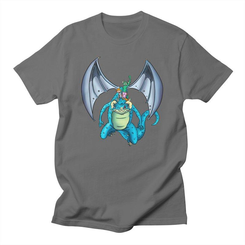 Dragon Riders Men's T-Shirt by Kid Beowulf Studio Store
