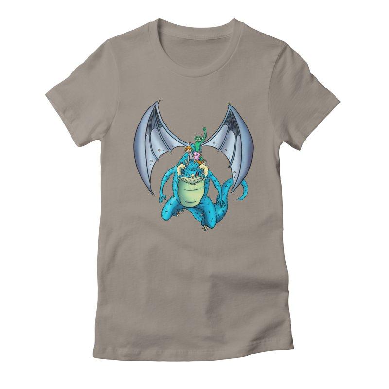 Dragon Riders Women's T-Shirt by Kid Beowulf Studio Store