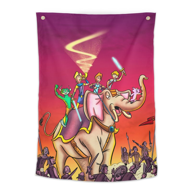 Song of Roland Tapestry Home Tapestry by Kid Beowulf Studio Store
