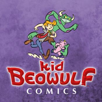 Kid Beowulf Studio Store Logo