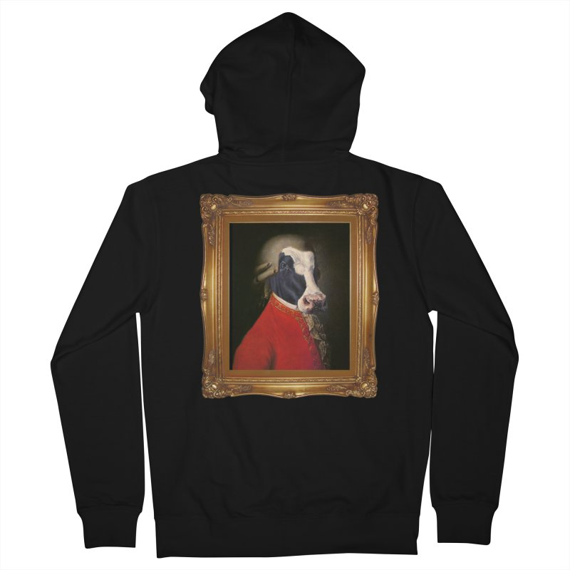 MOOOZART Men's Zip-Up Hoody by kidultcontent's Shop