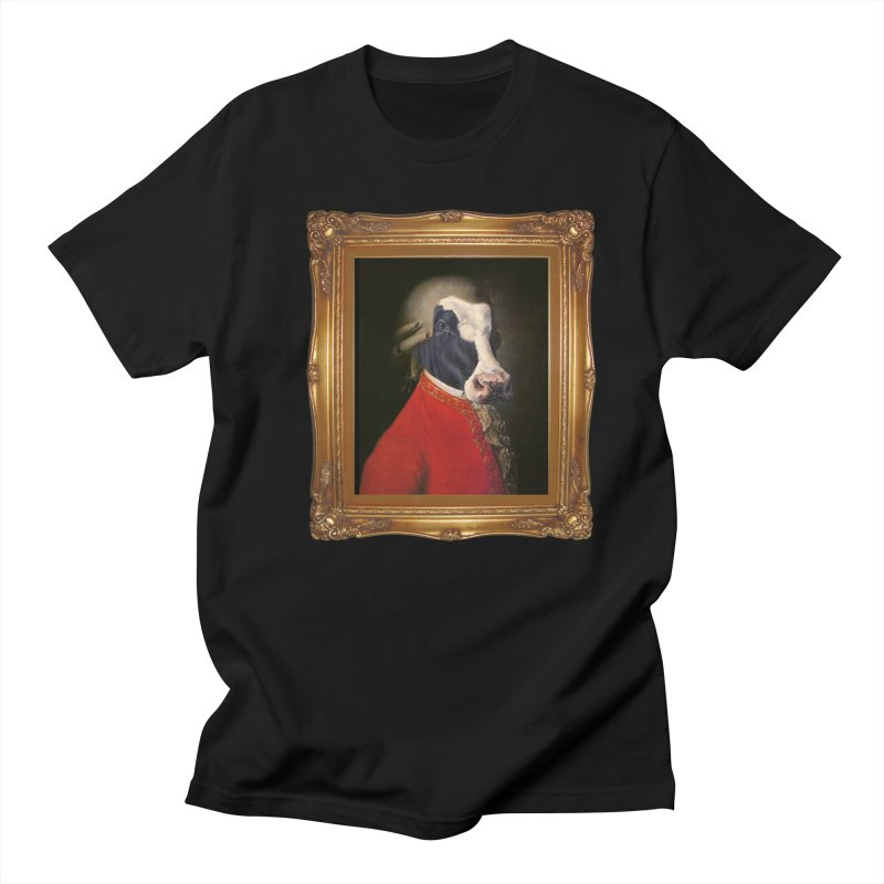 MOOOZART in Men's T-Shirt Black by kidultcontent's Shop