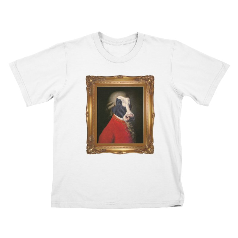 MOOOZART Kids T-Shirt by kidultcontent's Shop
