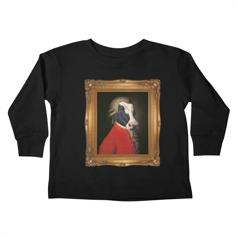 MOOOZART Kids Toddler Longsleeve T-Shirt by kidultcontent's Shop