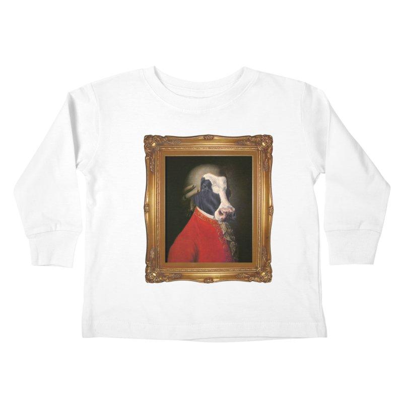 MOOOZART Kids Toddler Longsleeve T-Shirt by kidultcontent's Shop