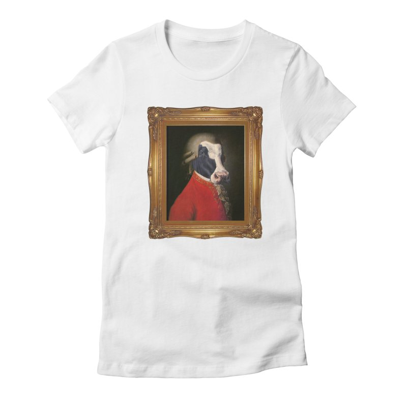 MOOOZART Women's Fitted T-Shirt by kidultcontent's Shop