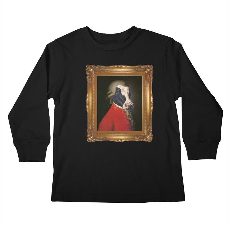 MOOOZART Kids Longsleeve T-Shirt by kidultcontent's Shop