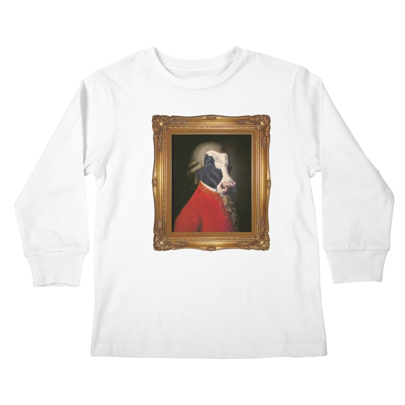 MOOOZART Kids Longsleeve T-Shirt by kidultcontent's Shop
