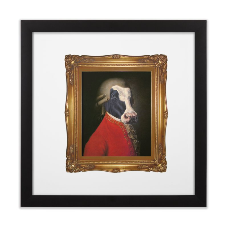 MOOOZART Home Framed Fine Art Print by kidultcontent's Shop
