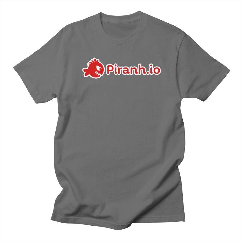 Piranh.io logo Men's T-Shirt by Kiemura Merchandise