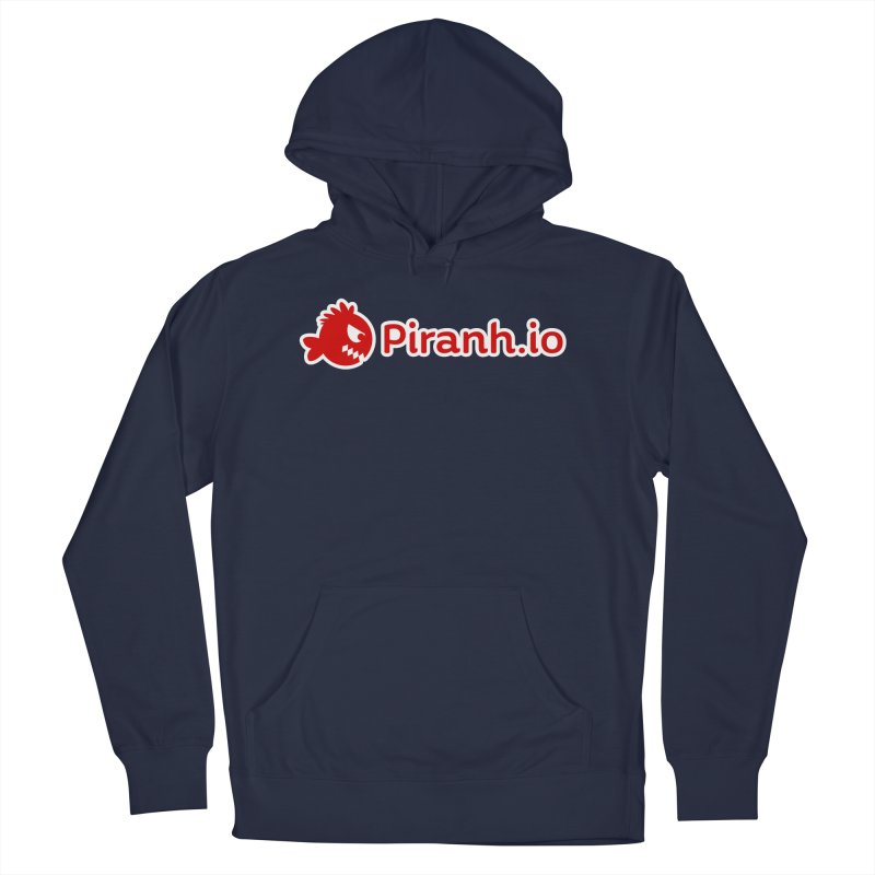 Piranh.io logo Women's French Terry Pullover Hoody by Kiemura Merchandise